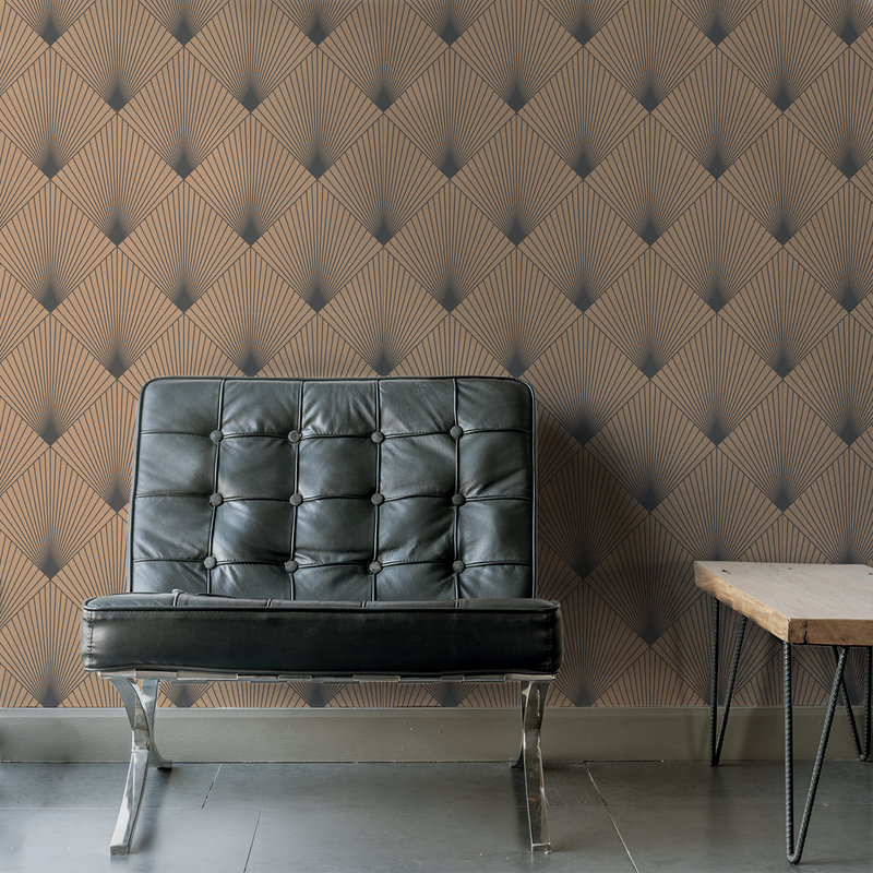 Uplift - Mustang - Trendy Custom Wallpaper | Contemporary Wallpaper Designs | The Detroit Wallpaper Co.
