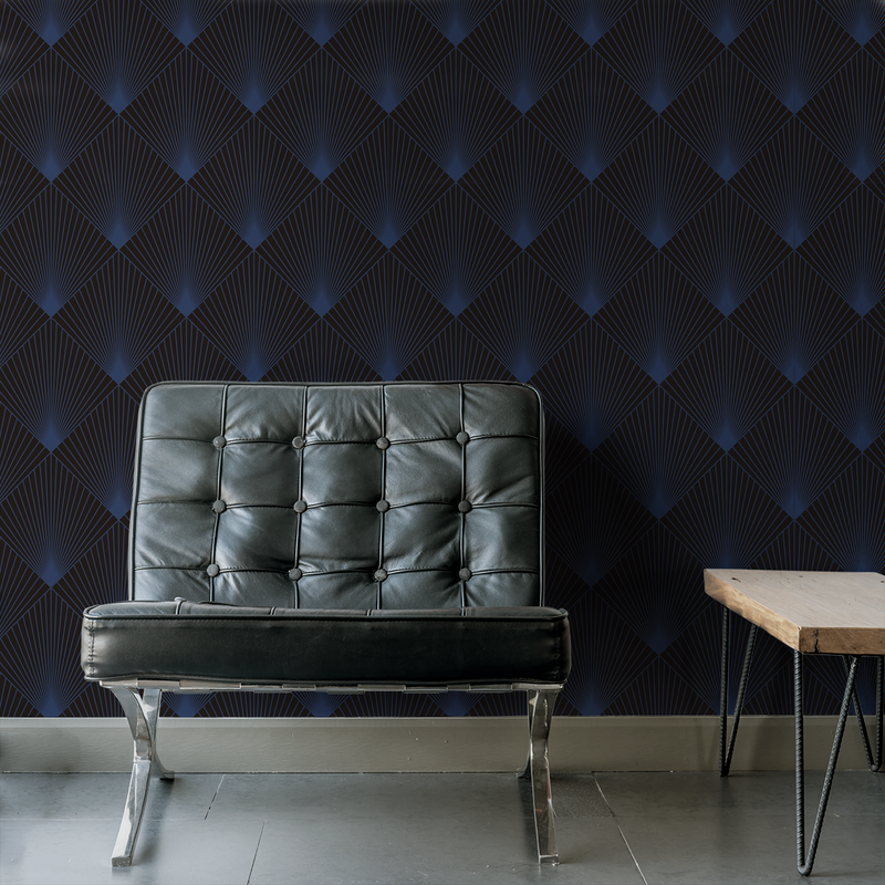 Uplift - Ray - Trendy Custom Wallpaper | Contemporary Wallpaper Designs | The Detroit Wallpaper Co.