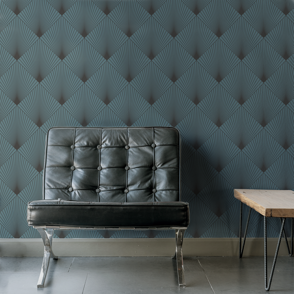 Uplift - Victoria - Trendy Custom Wallpaper | Contemporary Wallpaper Designs | The Detroit Wallpaper Co.