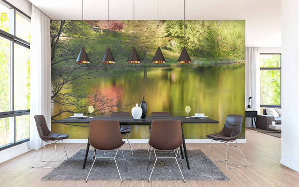 Vhay Lake <br> Brenda Rosenberg - Trendy Custom Wallpaper | Contemporary Wallpaper Designs | The Detroit Wallpaper Co.
