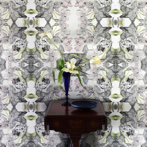 Voila <br> Nanci & Allen Einstein - Trendy Custom Wallpaper | Contemporary Wallpaper Designs | The Detroit Wallpaper Co.
