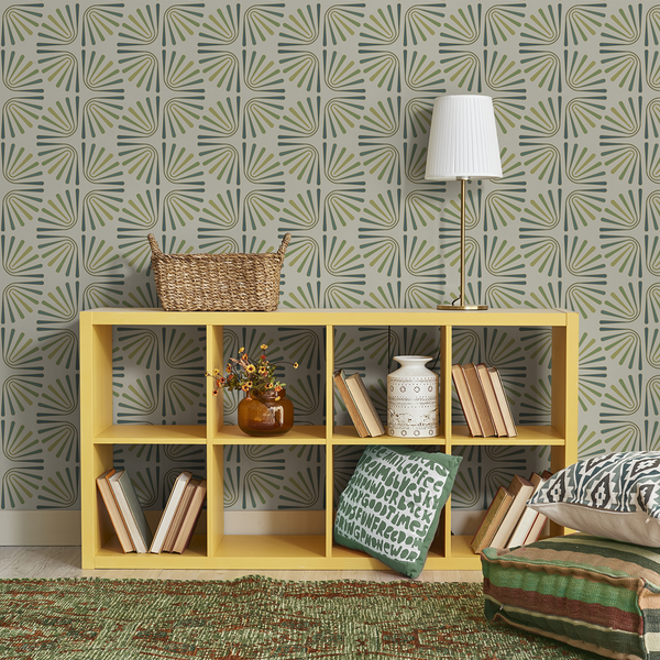 Worm - Fir - Trendy Custom Wallpaper | Contemporary Wallpaper Designs | The Detroit Wallpaper Co.
