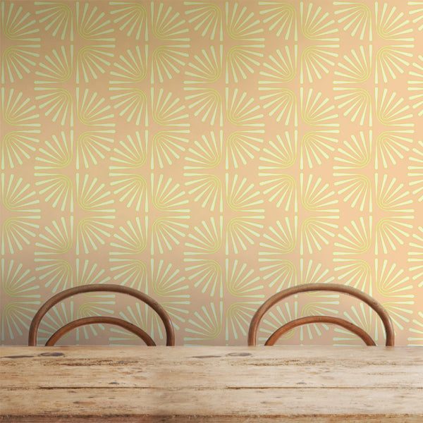 Worm - Trendy Custom Wallpaper | Contemporary Wallpaper Designs | The Detroit Wallpaper Co.