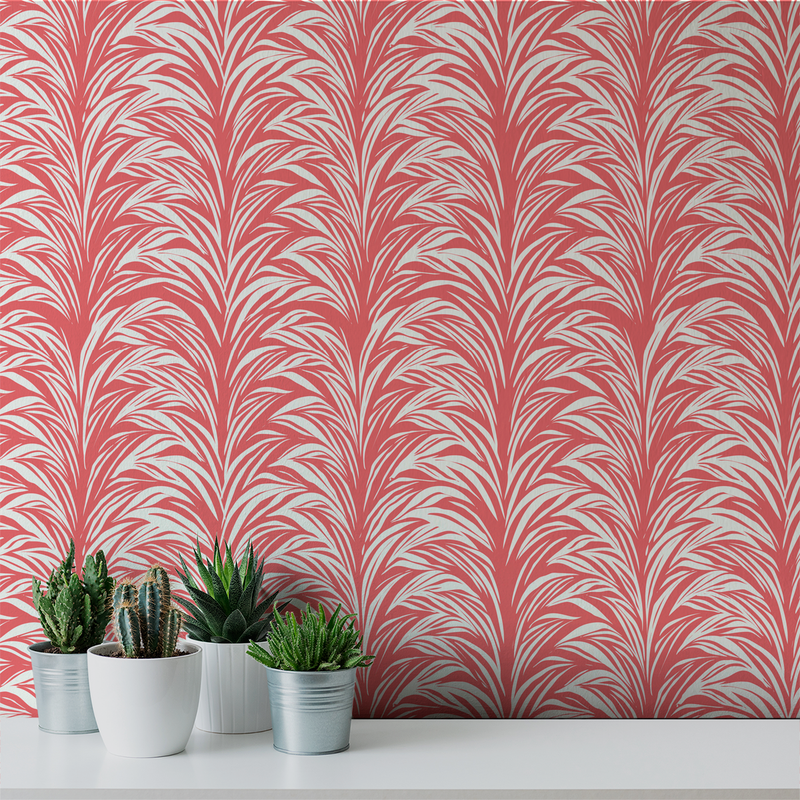 Zebra Fern - Boudoir <br> Victoria Larson - Trendy Custom Wallpaper | Contemporary Wallpaper Designs | The Detroit Wallpaper Co.