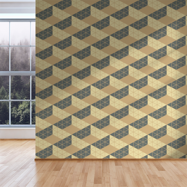 Zig Zag - Foundation - Trendy Custom Wallpaper | Contemporary Wallpaper Designs | The Detroit Wallpaper Co.