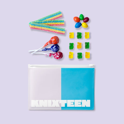 candy and knixteen pouch