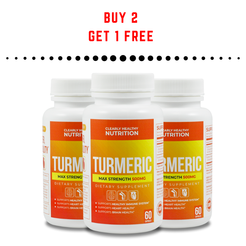 (Buy 2 Get 1 FREE) ->Cleary Healthy MAX Strength Turmeric 500 mg