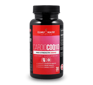 Clearly Healthy Cardio CoQ10 - 200mg -  30 capsules