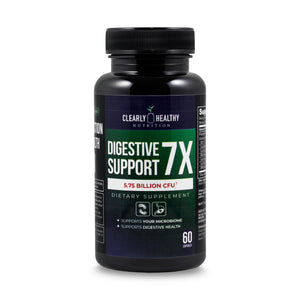 Clearly Healthy  Digestive Support 7X Probiotic 5.75 Billion CFU - 30 capsules