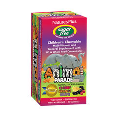 Animal Parade Sugar Free Children's Chewable - Assorted Flavor