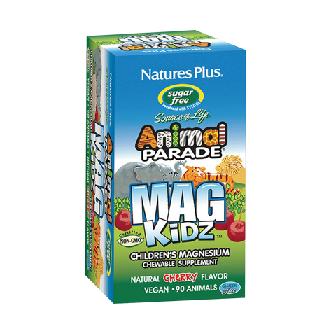45 Serving Sugar Free Animal Parade Magnesium Kidz Chewable