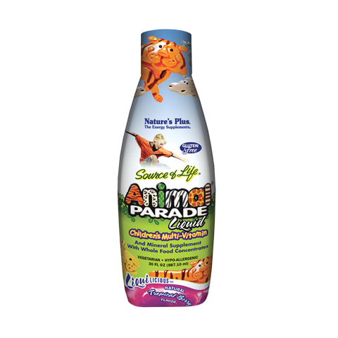 Liquilicious® Animal Parade® Liquid Multi-Vitamin - Tropical Berry Flavor