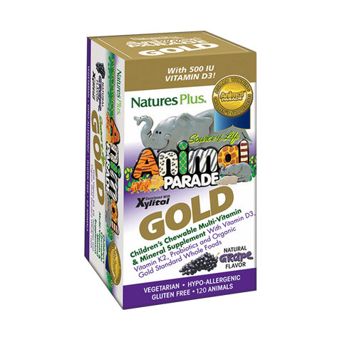 Animal Parade GOLD Grape Chewable Multi