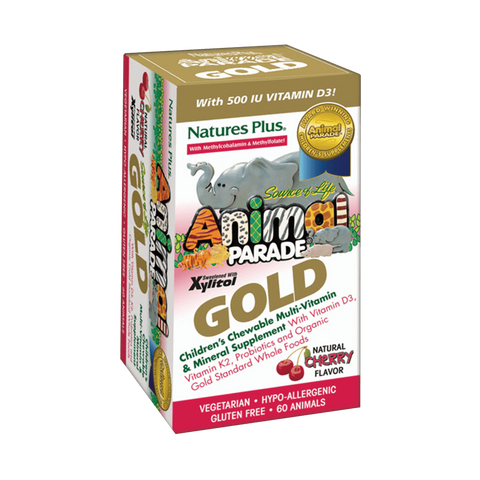 Animal Parade GOLD Children's Chewable Multi - Cherry Flavor