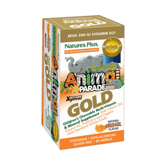 Animal Parade GOLD Children's Chewable Multi - Orange Flavor