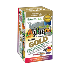 30 Serving Animal Parade GOLD Children's Chewable Multi - Assorted Flavors