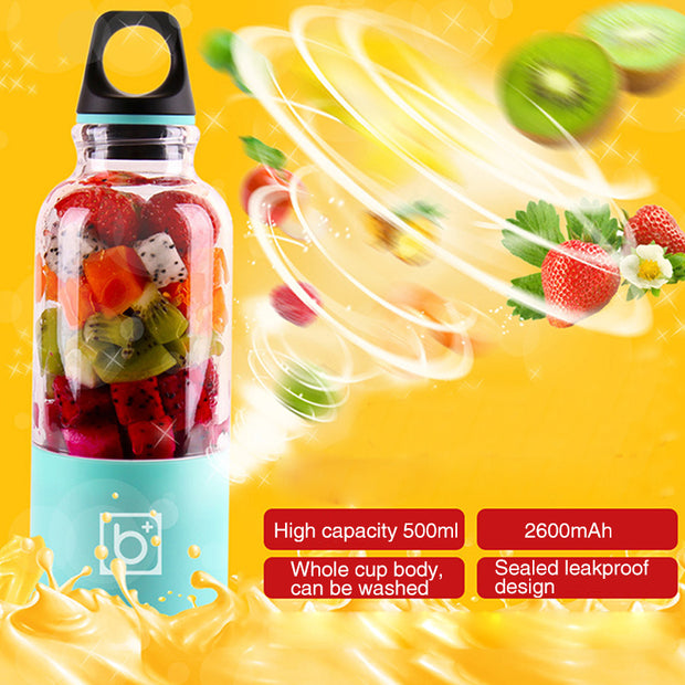 USB Portable Blender Bottle - KelSell