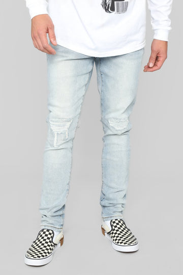 STYLED ON INSTAGRAM No Ordinary Life Skinny Jeans - Light Wash