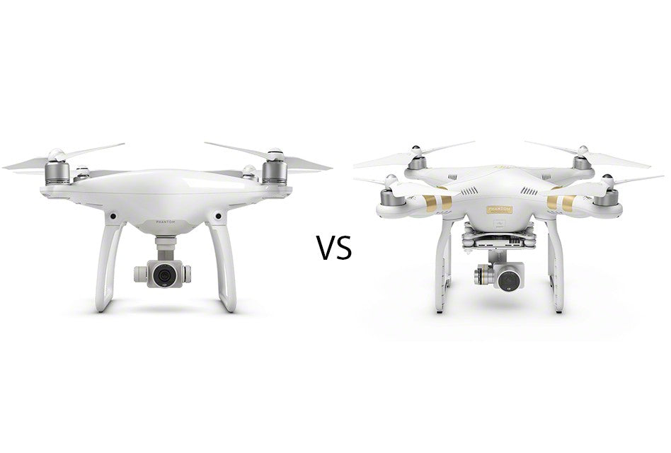 Comparativa de Phantom 3 vs Phantom 4 ¿Conviene el cambio?
