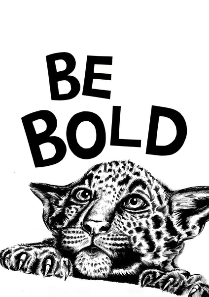 Be Bold Cheetah
