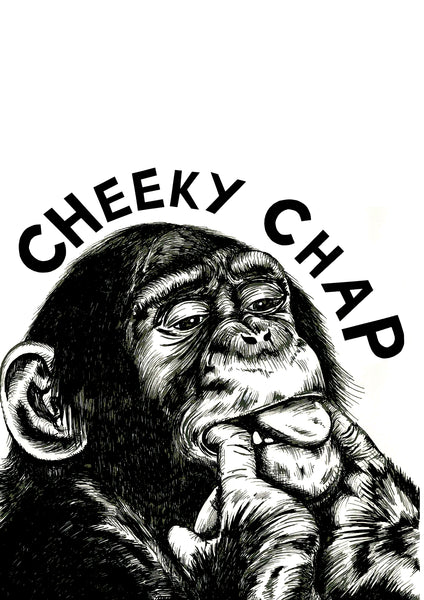Cheeky Chap Chimp