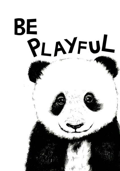 Be Playful Panda