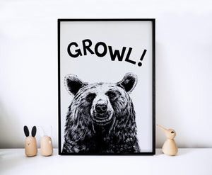 Growl! Bear