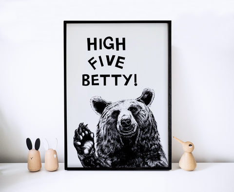 High Five! Bear
