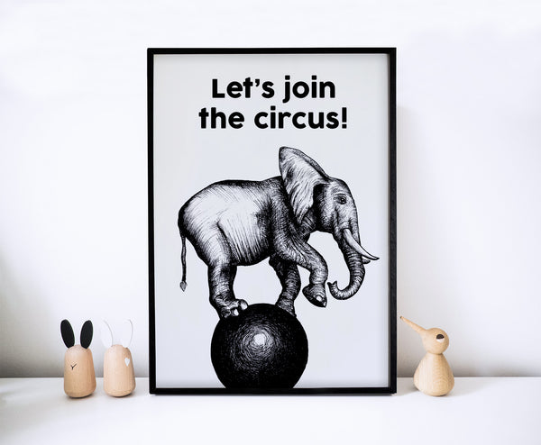 Let's Join The Circus!