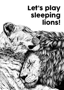Let's Play Sleeping Lions!