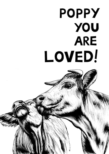 You Are Loved! Cows