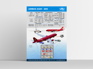 Airbus A320 -200 Poster