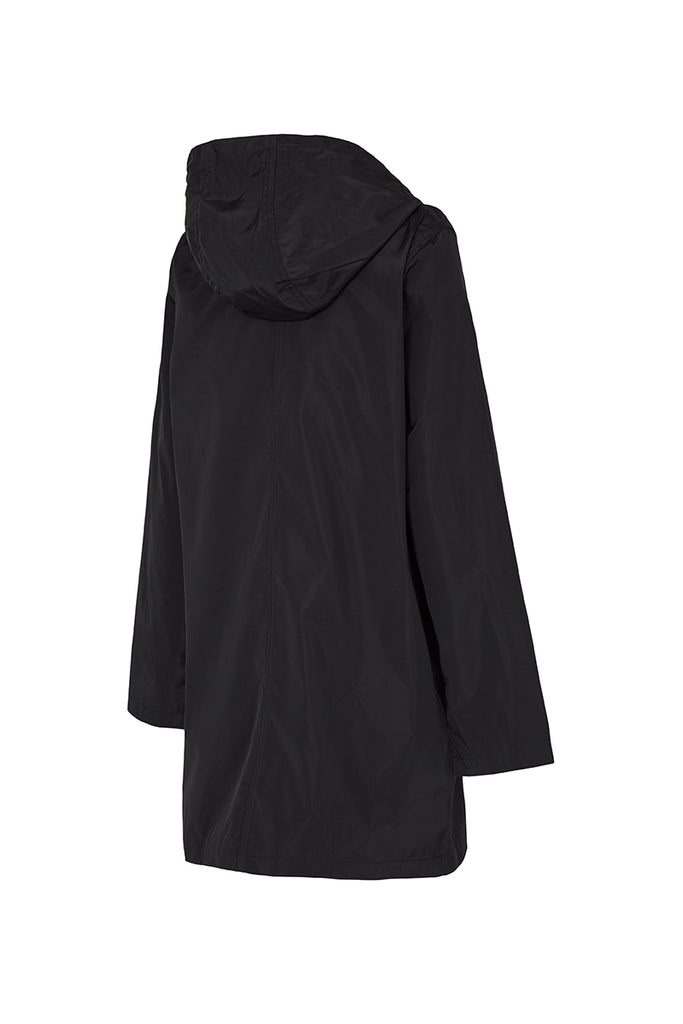 WOMENS '3/4 JACKET' RAINCOAT IN BLACK