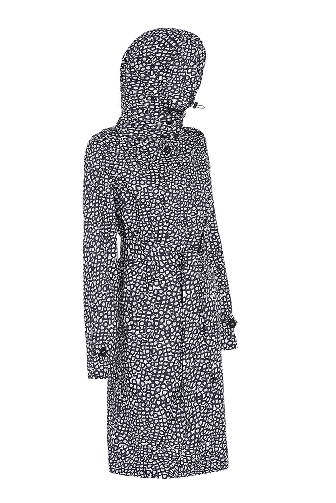 WOMENS 'ANYWHERE' RAINCOAT IN PEBBLE | M-L ONLY