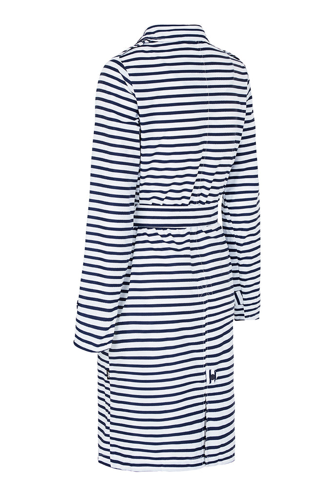 WOMENS 'TRENCH' RAINCOAT IN ZIG STRIPE