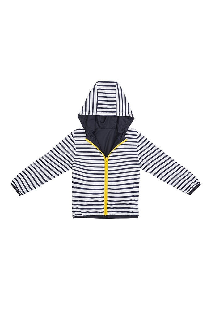 KIDS 'ANYWHERE' REVERSIBLE RAINCOAT FOR BOYS