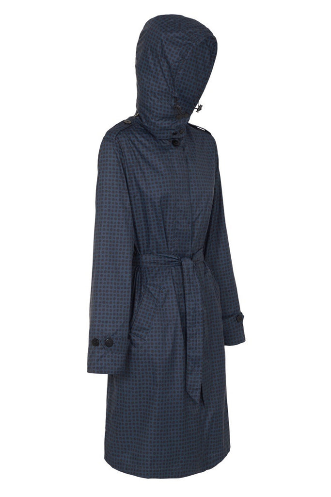 WOMENS 'TRENCH' RAINCOAT IN AFTER DARK