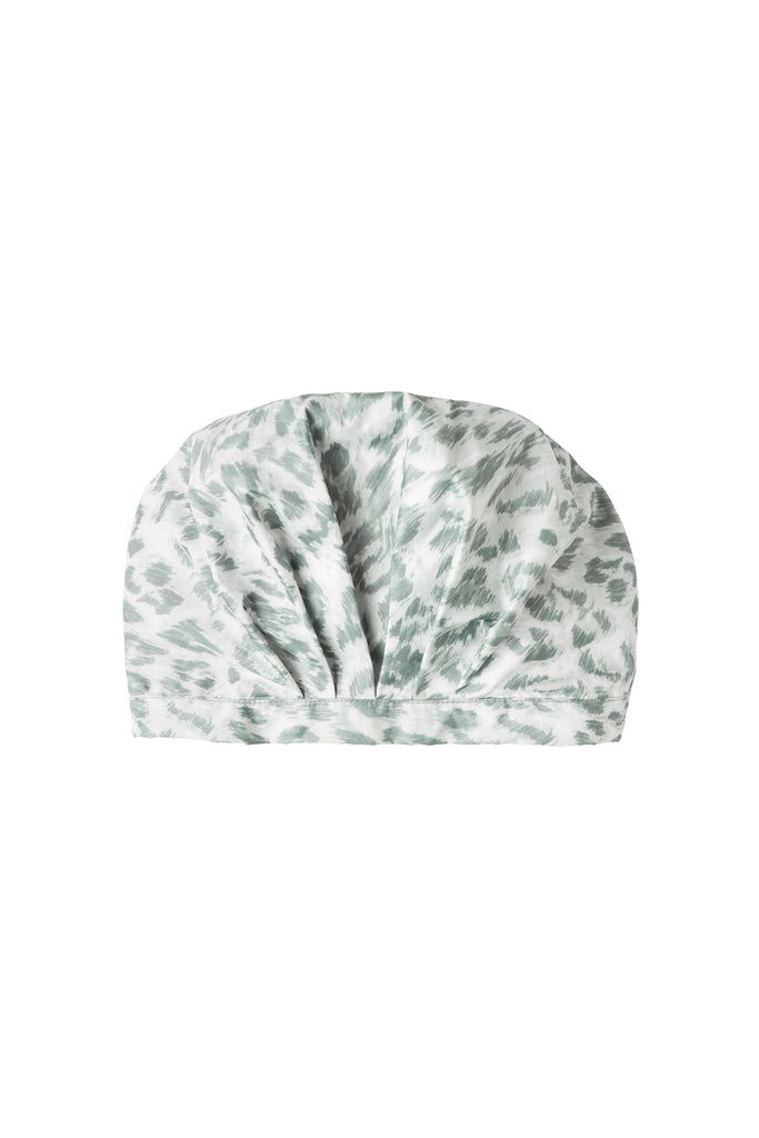 RECYCLED SHOWERCAP IN LEOPARD SMUDGE | PAQME