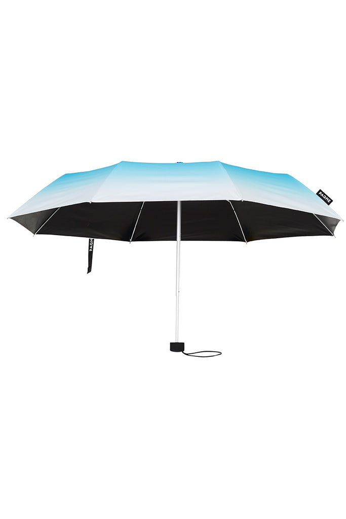 TRAVEL UMBRELLA IN AQUA