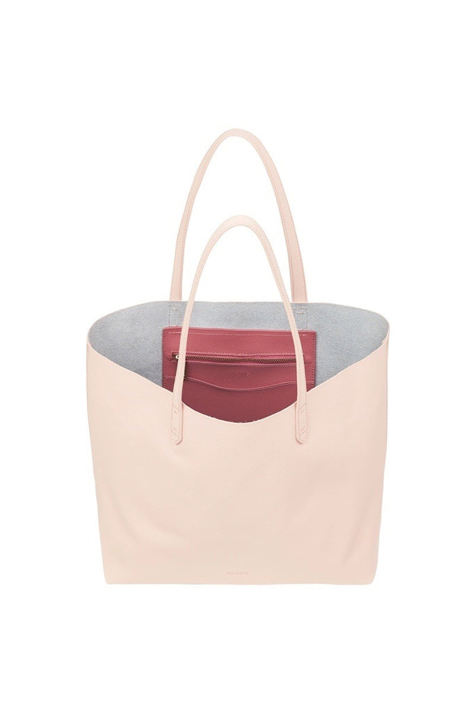 WOMENS FINE LEATHER TOTE IN WARM