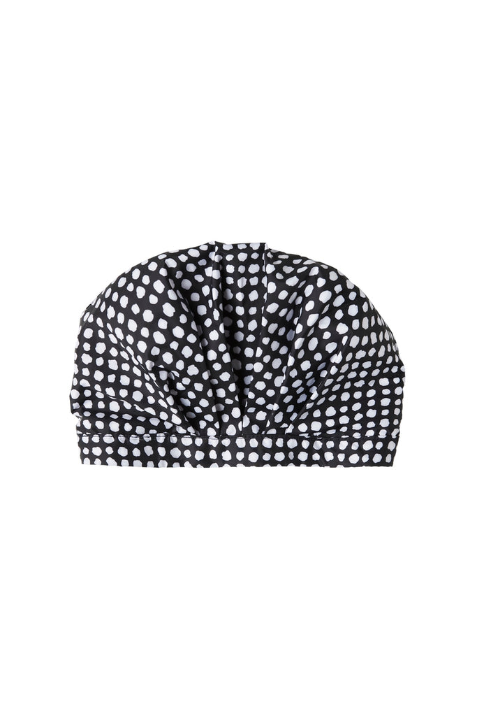 RECYCLED SHOWERCAP IN BLACK | PAQME
