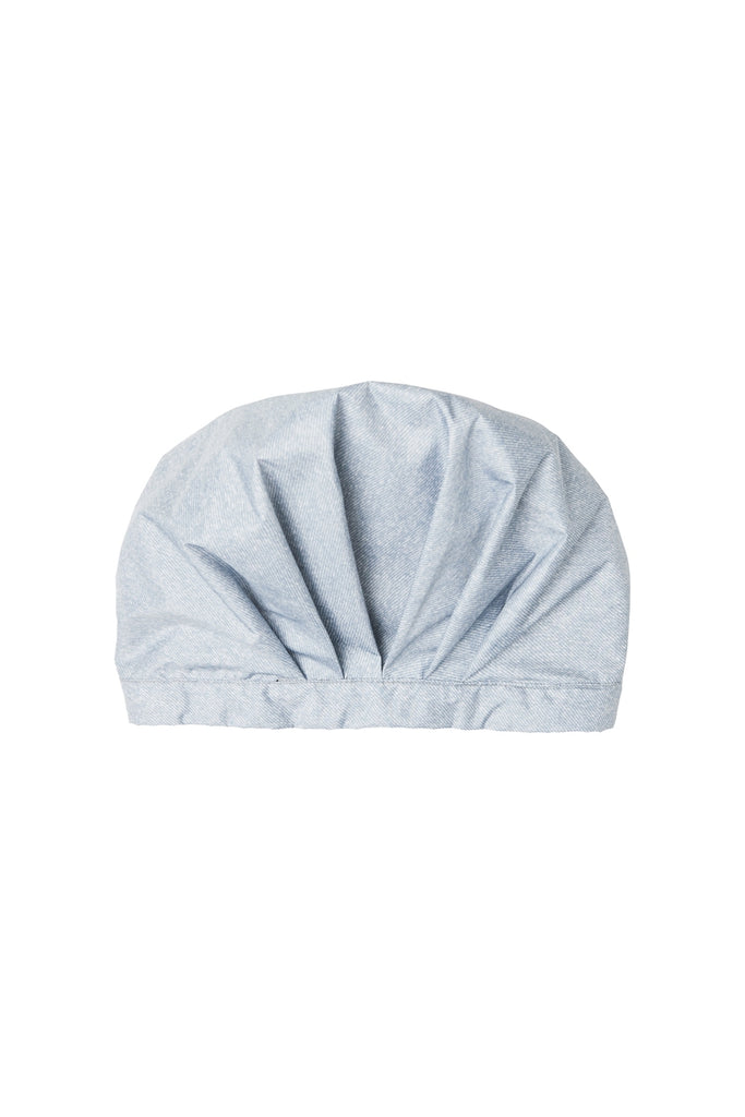 RECYCLED SHOWERCAP IN DENIM | PAQME