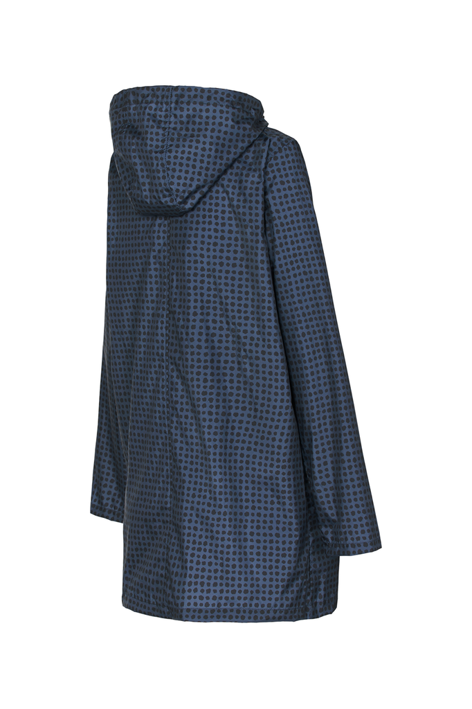 WOMENS '3/4 JACKET' RAINCOAT IN AFTER DARK