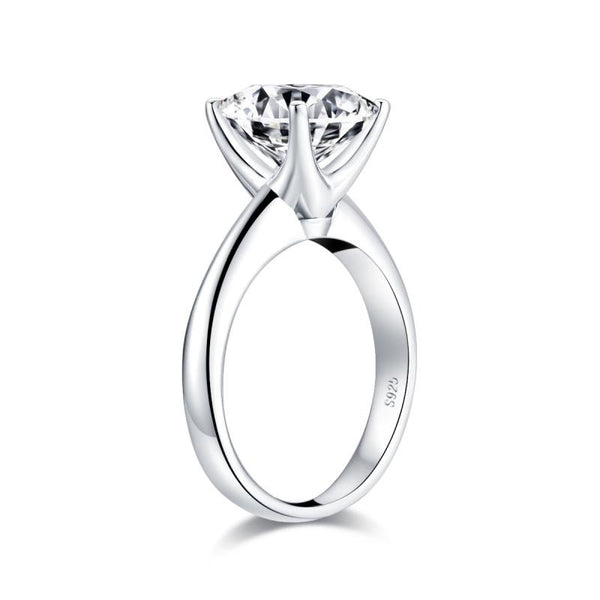 925 Sterling Silver 3.0CT Cushion Cut Ring - Medusa Jewels