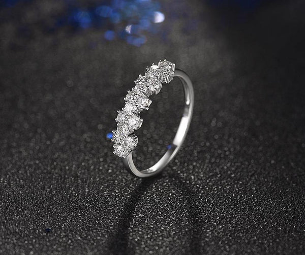 14K White Gold 0.65Ct Diamond Ring