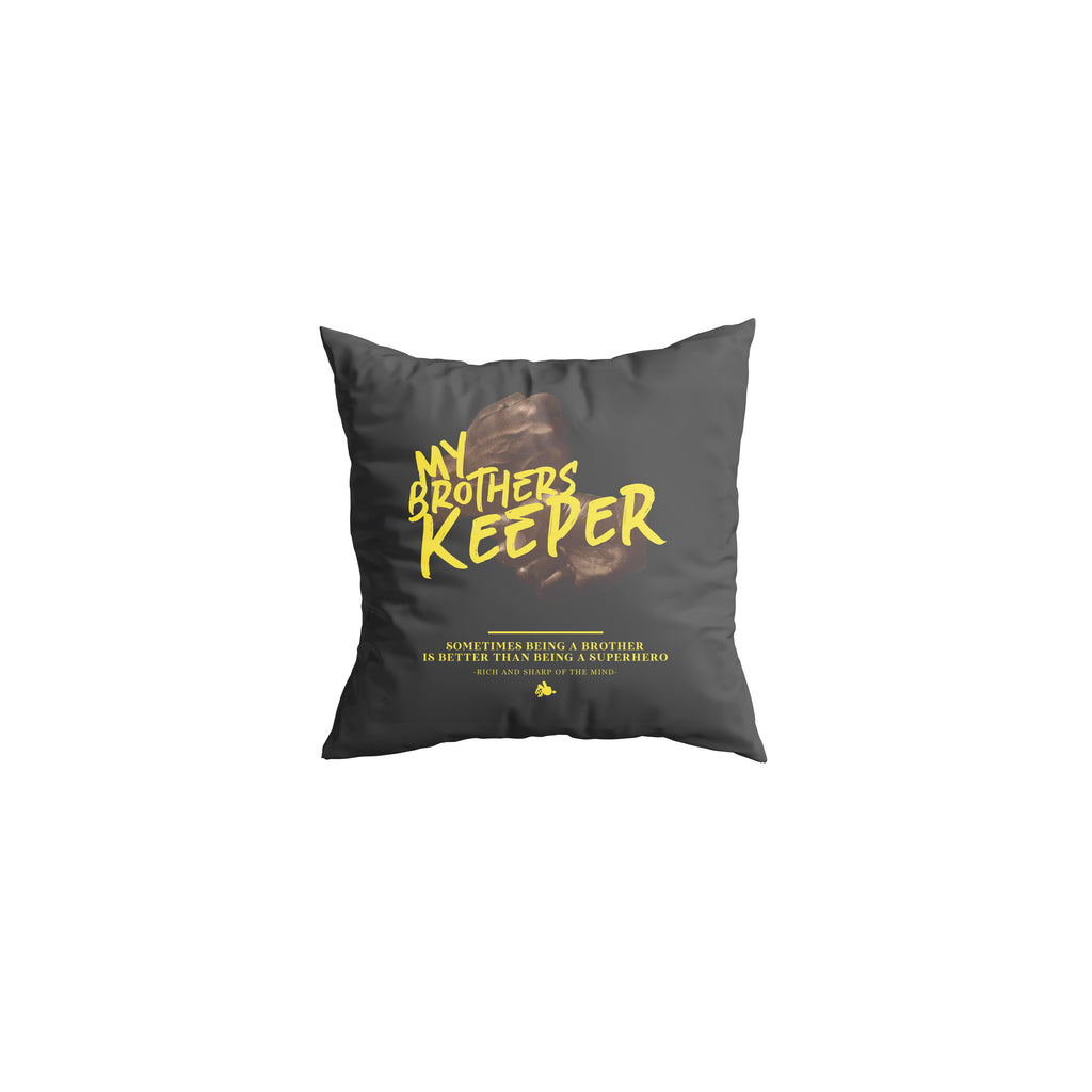 Brother Keeper pillow