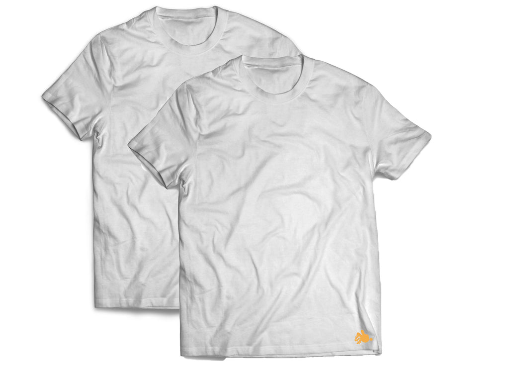 Summer White Tee 2Pack