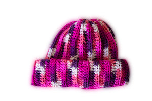 X-Hook it up Handmade Crochet Beanie