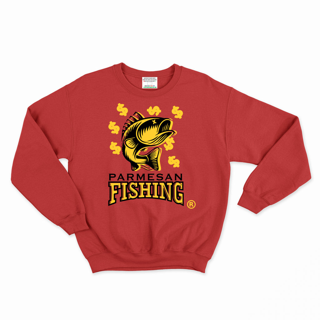 Parmesan Fishing Crewneck