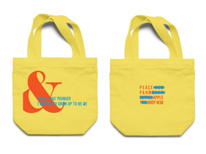 """& "" Canvas Tote Bag"